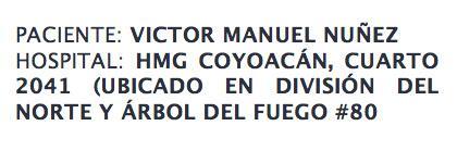 Valeria Marín (@ValMarinR): Se necesitan donadores para un gran gran amigo... RT!!! Se los agradecería mucho!!! http://t.co/4fQ3KjAN0i