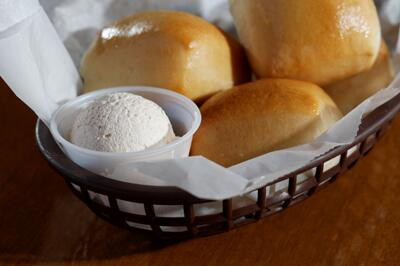 #WeCantDateIf you don't share the Fresh-Baked Bread and Honey Cinnamon Butter! http://t.co/ZY26orH5vT