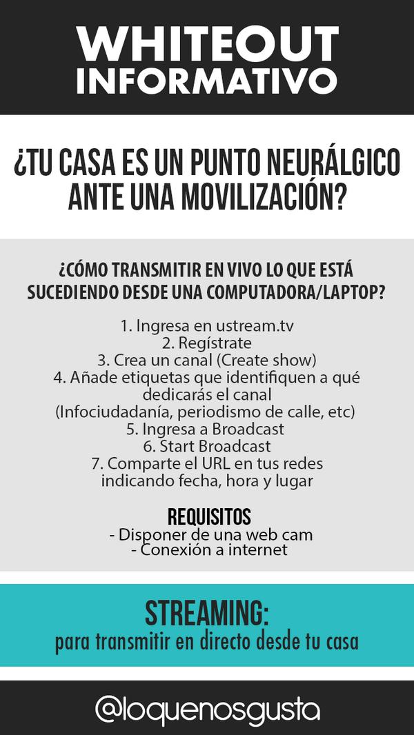 Si no te movilizarás, pero estás cerca del lugar de los hechos, también puedes ayudar #YoSoyTuVozVenezuela #18F http://t.co/xgQqcEsdAl