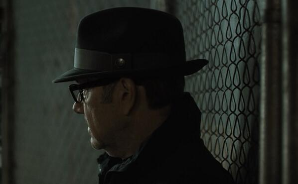 Frank Underwood conceals motives with the Red Ricci fedora in @HouseofCards Yes, #ThatsAGoorin #HouseOfCards http://t.co/4YM3IlV3jG