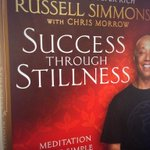 Can't wait to read @UncleRush's new book. Without stillness life is a blur… http://t.co/KjpHGGeAat
