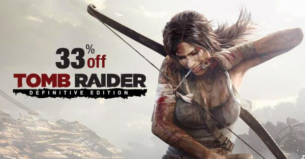 Gold Box Deal of the Day: Tomb Raider: Definitive Edition for PlayStation 4 and Xbox One http://t.co/uGjYi8a79O http://t.co/IqiRvMXISR