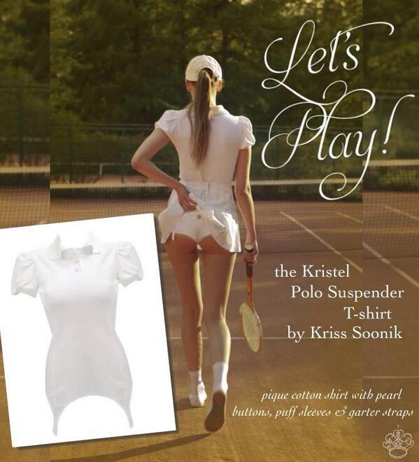 A favorite new arrival we're taking for ourselves! The Kristel garter top by @KrissSoonik at http://t.co/iLMenKvVPI http://t.co/U6DQTkhVGP