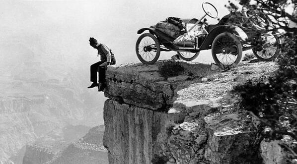 @Huckberry Parking at the Grand Canyon. 1914. via @ITStactical:  http://t.co/gKVt6WXrdU http://t.co/JqsB2A1AZY