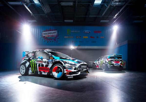 RT @dcshoes: Here's a look at @kblock43's new 2014 car livery! How do you like it? http://t.co/HsC1xgjKQ9
