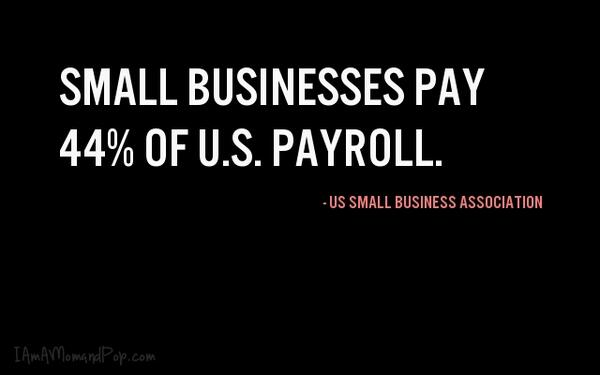 Are you aware of how BIG #smallbusiness really is? #TuesdayTruth http://t.co/tgv0GwYmVt
