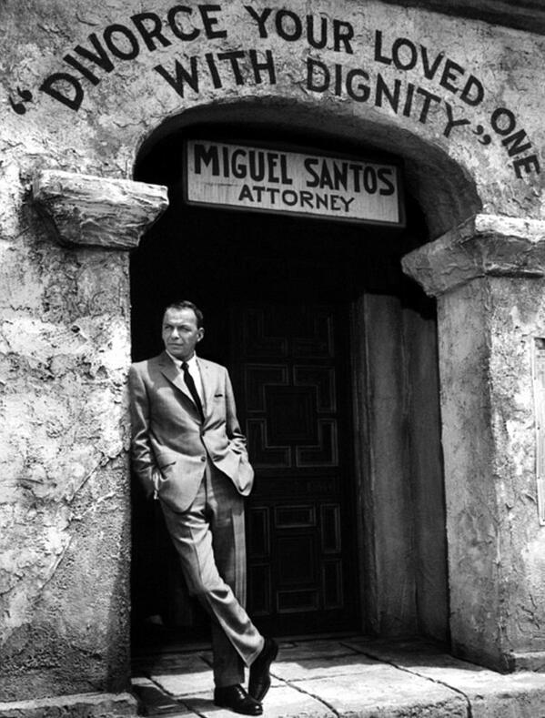 Frank Sinatra, 1965. http://t.co/G3DQqkoQFW