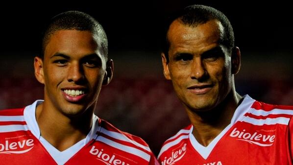 Rivaldo played 35 minutes alongside his son Rivaldo Júnior, but Mogi Mirim drew 1-1 with XV de Piracicaba: http://t.co/9PH9B3Xb1B