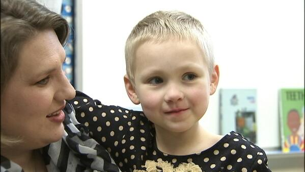 A 5-year-old with leukemia wants to be a famous kindergartner. Please RT and help her out. http://t.co/NBbFQBz2GA http://t.co/wD4ZNeKUsm