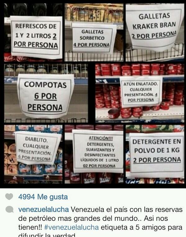 """""""@QueArrecheraDa: NO QUEREMOS MÁS PATRIA NO JODA, DEVUELVANNOS NUESTRA VENEZUELA DE ANTES DE ESTOS COMUNISTAS http://t.co/KO6ghCBHrf"""""""