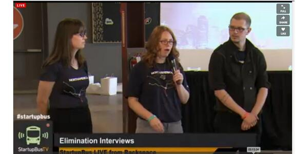 Hey, that's @tgaull of @LeanKansasCity fame on @StartupBusKC TV with the @Academe_io team @KCSV #KC http://t.co/OCRqHHf7qd