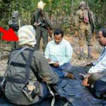 "3/3: ""@drnileshmodi: This Dreaded Maoist Sabyasachi Panda who joined AAP. Who does his dress remind u of? #NaxalAAP http://t.co/KjO1GyTLFR"""