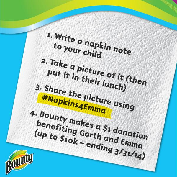 Inspired by @NapkinNotesDad's story? Us too! Help us lend a hand! #Napkins4Emma http://t.co/ihKqcSLQls http://t.co/yQWHHB5RF1
