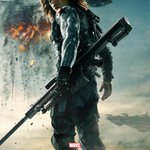 such #WinterSoldier much metal arm wow #CaptainAmerica poster