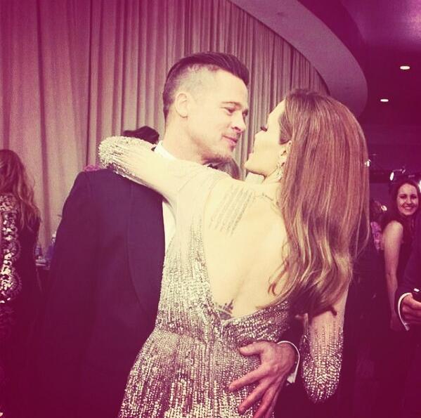 Beautiful couple... #Oscars2014 #Brangelina http://t.co/FfZILu3trA