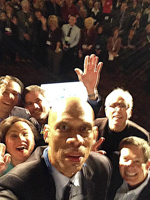 If only @kaj33's arm was longer. Best photo ever. #WIGCOT http://t.co/eSe9rCCcpb