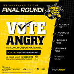 RT @GoShockers: #VoteAngry, Shockers! http://t.co/BBWNCn1Hcv http://t.co/6SmueXe7uD