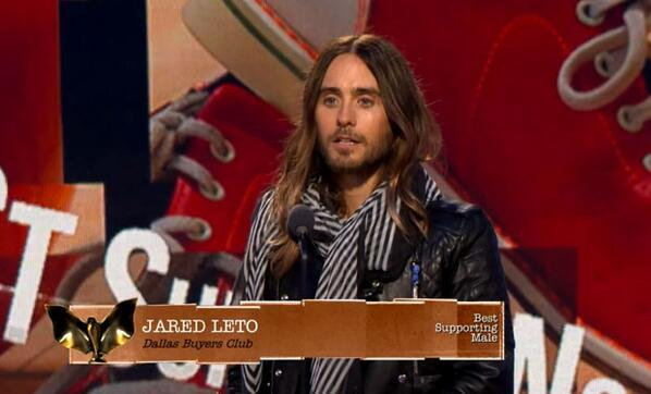 Want to see @JaredLeto's full, unedited Spirit Awards speech? We gotcha covered. http://t.co/HGUSq5Lhmj http://t.co/Hk6zm4uKlk