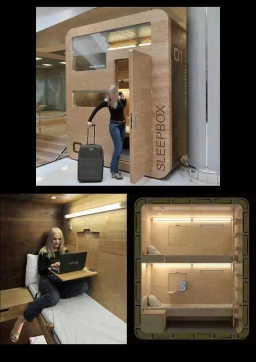 New Sleeping Booths At Airports! http://t.co/6n8AtuaxV9