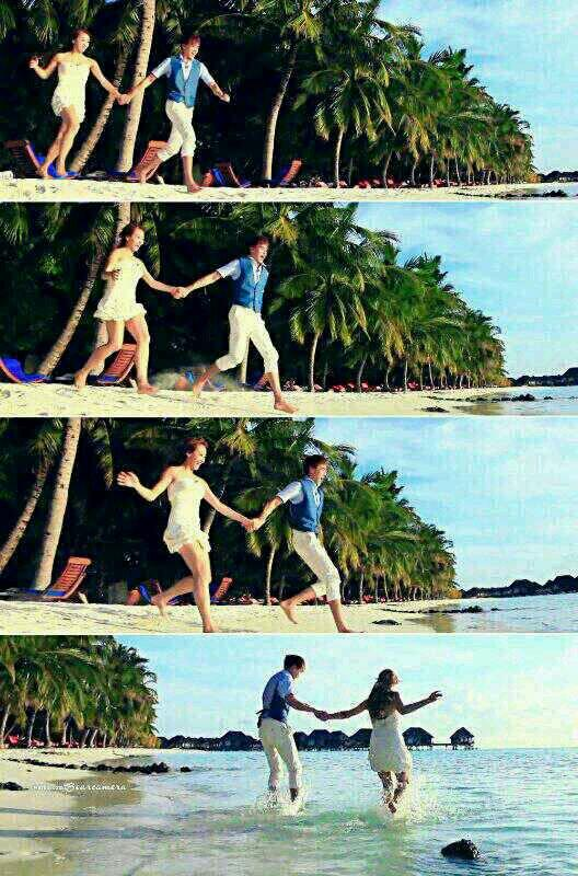 [Pics] Love in Maldives~♥ #khuntoria  ©as tagged http://t.co/6n48glZogX