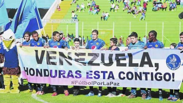 Multan a equipo de fútbol en Honduras por apoyar a Venezuela http://t.co/yqOO0pXBWA #acn http://t.co/sTyKoc3ZYj