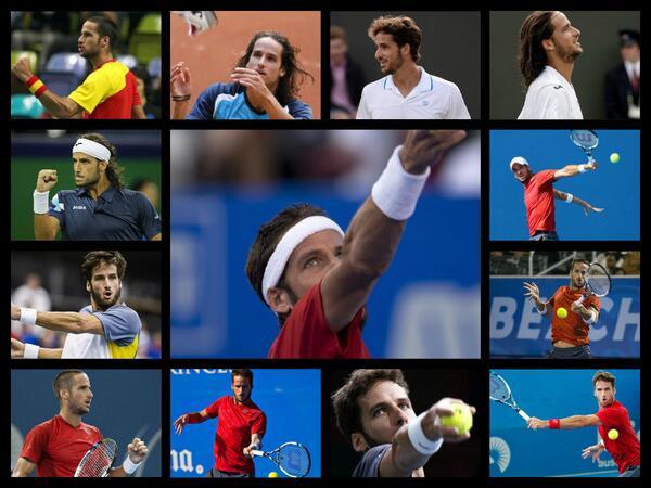 El el Día Mundial del Tenis un pequeño homenaje para @feliciano_lopez x ser un gran tenista con un juego espectacular http://t.co/4jrmWsqPDq
