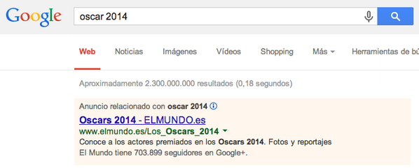 ¿Invertirá El Mundo (UE) los ingresos por el #CanonAEDE en Google Adwords? #mediossinremedio http://t.co/JSIZU9gb1p