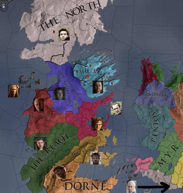 Pentos geography and strategy in game of thrones with images