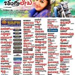 Chiranjeevi Sarja's March 7th release movie #Chandralekha final theater list http://t.co/vDh5TagHYm