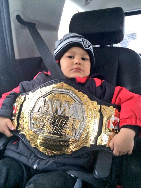 Parent Helper Today For RJs PreSchool I Ask Him What You Wanna For Show&Tell He Says Your Belt Daddy! #ChampionDad http://t.co/IKx1g8E2bT