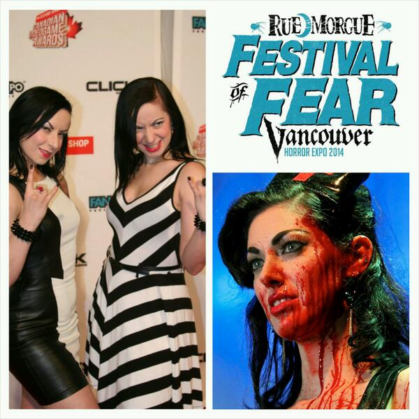 Vancouver!! Who's coming to meet @littlemissrisk & @twisted_twins at @RueMorgue's Festival of Fear!? April 18-20th! http://t.co/IzJxzObL2L