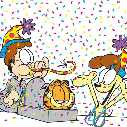 Happy 36th birthday, @Garfield http://t.co/pHGW7dPmdJ