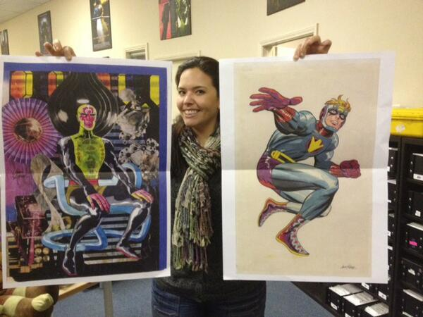 Want another Jack Kirby New Gods Artist's Edition foldout? Here you go! http://t.co/EGB7Ykjmje