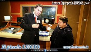 Andrea Diprè (@AndreaDipre): Il PICCOLO LUCIO con il critico d'arte prof. avv. Andrea Diprè http://t.co/FUMxoU19aC