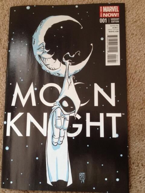 This ain't your dad's @Marvel Moon Knight. Holy crap new direction by Warren Ellis w delightful @skottieyoung cover: http://t.co/FdcF6ZhiHt