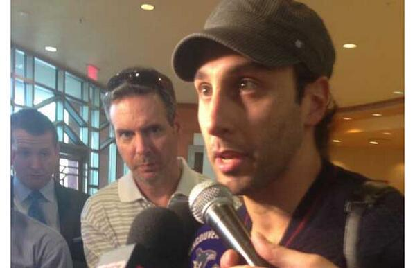 #Vancouver #Canucks Roberto #Luongo 'stunned … a little sad' abt trade to Florida #Panthers http://t.co/HL8EluPLtH http://t.co/lapMXg8Z8y