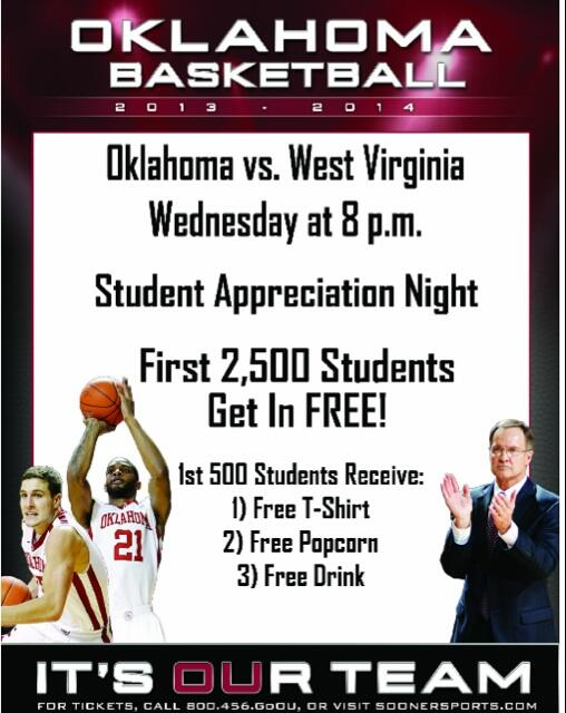 Sooner nation! Make sure and get out to our final home game of the year tomorrow! Come early and get some free stuff! http://t.co/sFxevZc28M