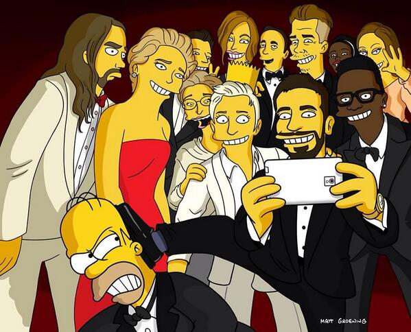 I've officially joined @TheSimpsons!  #oscars http://t.co/Q2i0SBEuiZ