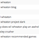 Top search terms that people used to find my blog always amuse me.
