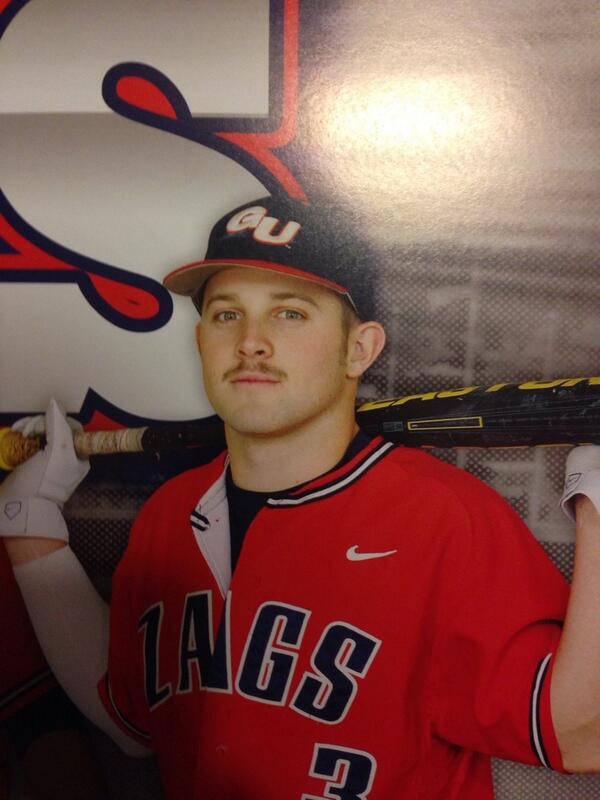 Legendary stash on the @GonzagaBaseball poster!!!! My mom is gonna be pissed!!!! http://t.co/TmmsMgaflx
