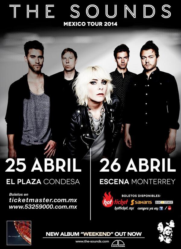 MEXICO!!!! #thesoundstour @thesoundsmexico http://t.co/xwearjvzT2