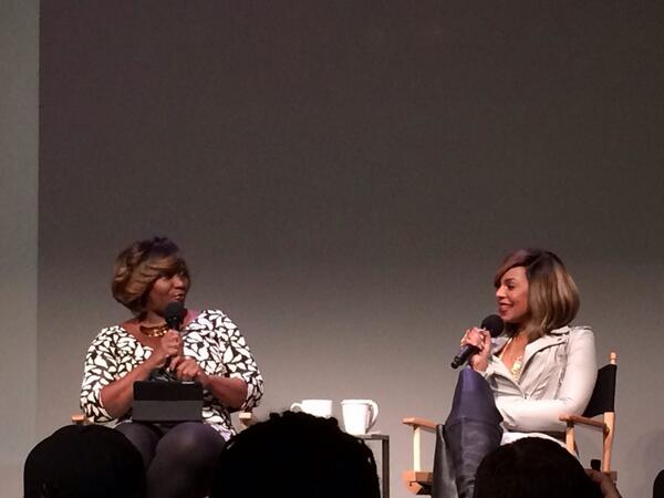 "The lovlies @bevysmith & @ashanti discussing her new album ""Braveheart"" #nyc #music"