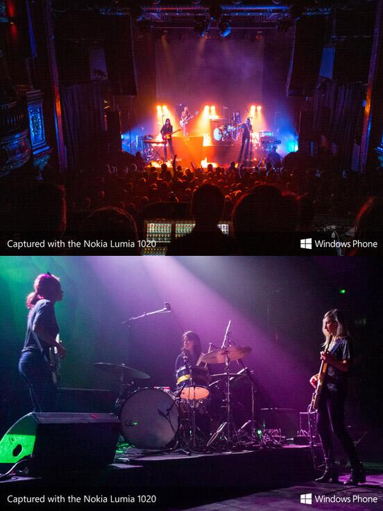 Tried the Nokia Lumia 1020 at Warpaint on Monday for @WindowsPhoneUK @NME - shoots RAW! -> http://t.co/42GMiwddvh - http://t.co/GfaUOKLlbc