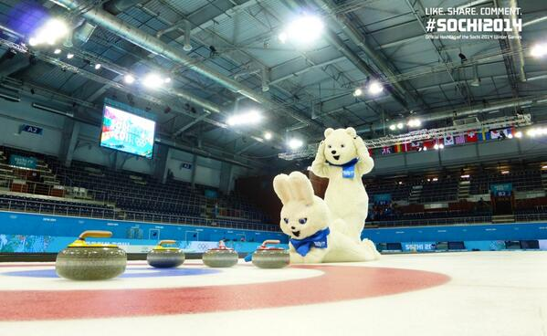 Probably should have used a different camera angle: RT @Sochi2014: The #Sochi2014 mascots gave Curling a try http://t.co/iR2Hylho8i