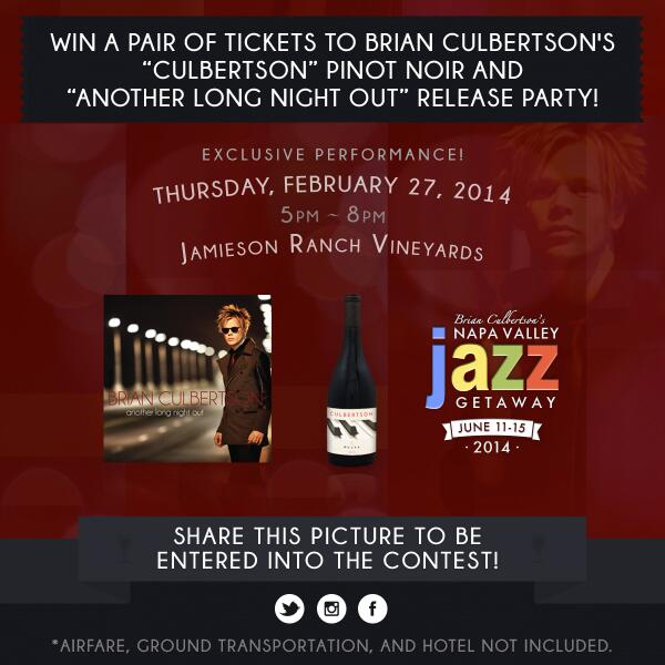 Retweet and enter to win a pair of tickets to my #AnotherLongNightOut and new wine release party in Napa next week!! http://t.co/DhMBPkesEw