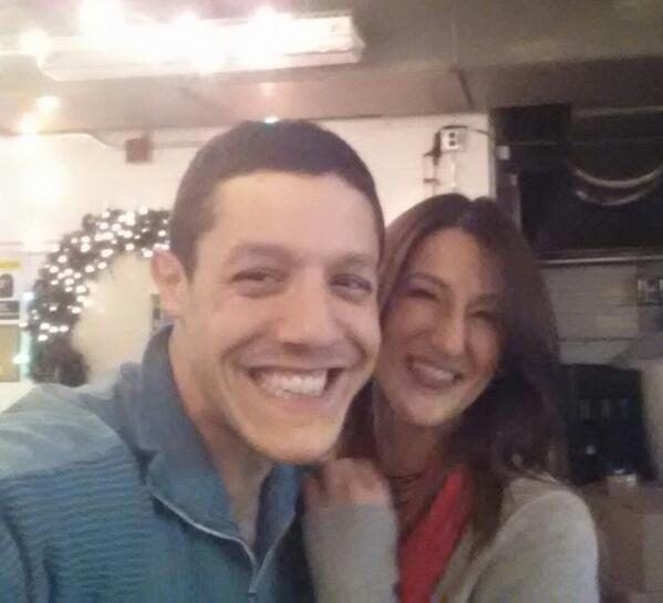 This just happened! Met @TheoRossi! So sweet & a @Godsmack_Music fan! \m/ http://t.co/fALfer6wBY
