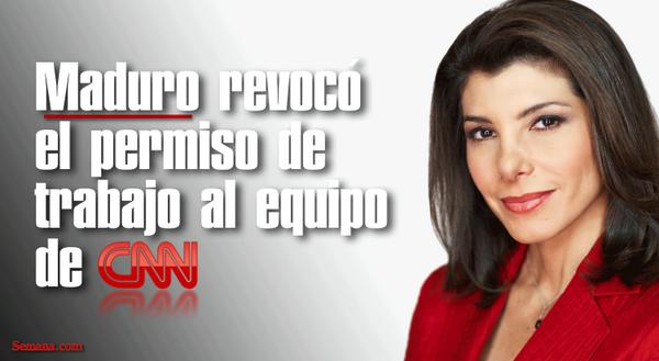 Censura en #Venezuela: revocan el permiso de trabajo al equipo de @CNNEE y @CNNi --> http://t.co/Tm6xgYO8s8 http://t.co/Pi2NmJXTFu