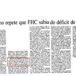 RT @Politica_Santos: Ministro de FHC, Tourinho, diz que Presidente sabia do deficit de energia mas FMI não deixava investir #PSDBsecouSP http://t.co/VylsDbUe3O