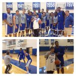 . @MakeAWish kid Josh had a ball at our practice. http://t.co/U2WUS1Qodg