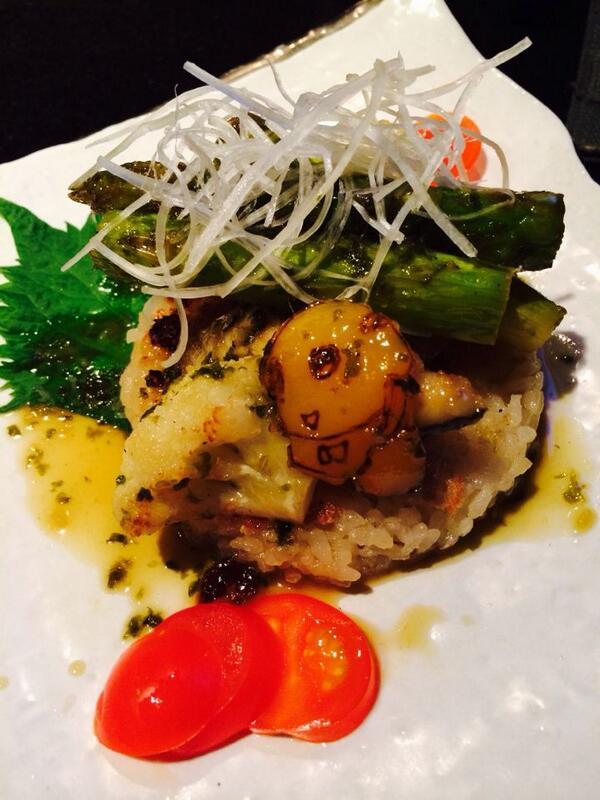 昨日食べたい船橋B級グルメのコンテストで1位とったすずき飯。パプリカに刻印してあるふなっしーが可愛い♡ http://t.co/zHY57JFv4K